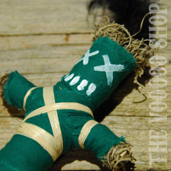 Wanga Doll Green - Luck & Success