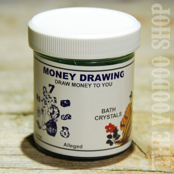 Bath Crystals Money Drawing